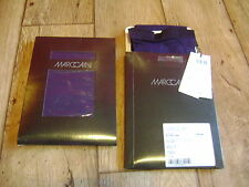 Marc Cain 100 denier tights.RRP £35.Bright,bold colours.New+tags.Size 10.Purple
