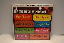 The Greatest In Person, Various Artists, Grand Prix Pickwick, KS403, Shrink, VG+