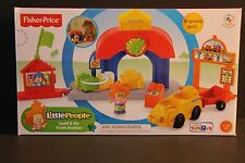 One Set of 9 Pieces Fisher Price Little People Load & Go Train Station