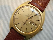 Vintage 750 Gold OMEGA CONSTELLATION Automatic Day Date Oro 18K Watch Orologio