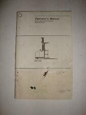 Clark Forklift Operator's Manual OP15B 2779293 OM-576