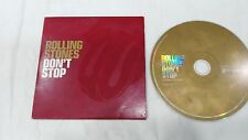THE ROLLING STONES ' DON'T STOP' CD SPANISH PROMOTIONAL VERY RARE