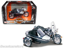 Maisto 1/18 Harley Davidson Motorcycle 2001 FLHRC Road King With Side Car 76200