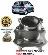 FOR TOYOTA YARIS + YARIS VERSO 1999-2005 REAR WITHOUT -ABS WHEEL BEARING HUB KIT