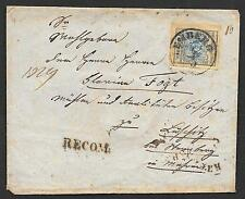 Austria covers 185? BOTH SIDES! franked R-cover Lemberg to Sternberg