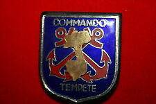 FRENCH MARINE COMMANDO TEMPTE GROUP BADGE VIETNAM INDOCHINA EXCELLENT COPY