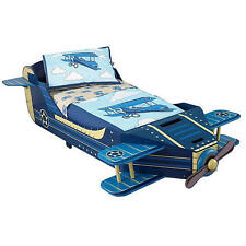 KidKraft Airplane Toddler Bedding 4 Piece Set