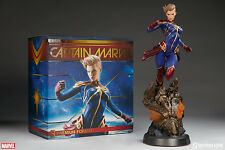 Sideshow Collectibles Marvel Captain Marvel Premium Format Figure New