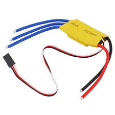 30A Brushless Motor Speed Controller RC BEC ESC T-rex 450 V2 Helicopter Boat LO
