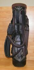 Adams Golf Tight Lies Blue Double Shoulder Strap Golf Club Bag With Stand *READ*