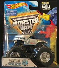 Hot Wheels Monster Jam N.E.A Police 1:64 Diecast Monster Truck New 2014