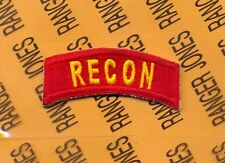 US ARMY RECON 25th Infantry Cavalry Reconnaissance tab patch