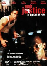 MOB JUSTICE - IN THE LINE OF DUTY - NEW & SEALED DVD FREE LOCAL POST