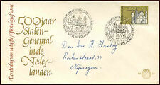 Netherlands 1964 First States-General Meeting FDC First Day Cover #C27142