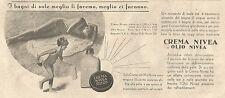 Y2075 Crema NIVEA - Illustrazione - Pubblicità del 1933 - Old advertising