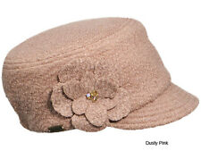 Betmar New York Sandy Boucle Textured Cap-Dusty Pink-1 SFM-NWT