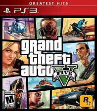 Grand Theft Auto 5 V [Playstation 3 PS3 Video Game GTV 5] Brand NEW Sealed