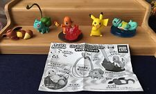 TAKARA TOMY POKEMON POCKET MONSTER SET OF 5 FIGURES PIKACHU+ **US SELLER**