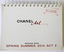Chanel ART Message Mode Catalog Look Book Spring/Summer 2014 Act 2
