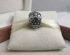 NEW w/Box Pandora Retired Decorative Easter Egg w/ CZ's Charm #790390PCZ Faberge