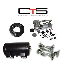 Triple Train Horn Kit Air Horns Car Truck 150 PSI Air System Tank See Desc below
