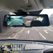 "Daewoo Nexia Rear View Mirror G Shock HD Dash Cam 4.3"" Display"