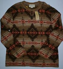NWT Mens 2XL Denim & Supply Ralph Lauren Navajo Knit Cotton Sweater MSRP $98.50
