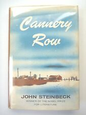 CANNERY ROW by JOHN STEINBECK 1966 1ST EDITION FOURTH PRINTING HC w/ JACKET RARE
