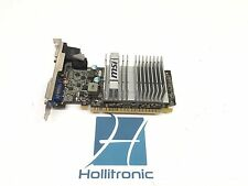 MSI NVIDIA GeForce PCI Express X16 512 MB GDDR3 SDRAM 210 N210-MD512D3H/LP