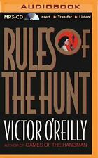 Rules of the Hunt by Victor O'Reilly (2015, MP3 CD, Unabridged)