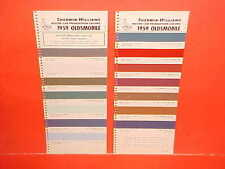 1959 OLDSMOBILE SUPER DYNAMIC HOLIDAY 88 98 CONVERTIBLE COUPE PAINT CHIPS SW