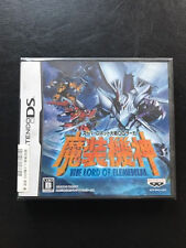 Super Robot Taisen OG Saga Masou Kishin THE LORD OF ELEMENTAL, ds jap, neuf
