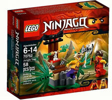LEGO Ninjago 70752 Jungle Trap Toy Set New In Box Sealed #70752