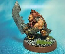 Dungeons & Dragons Miniature  Dwarf Barbarian Character !!  s106