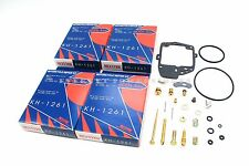 New x4 Carburetor Rebuild Kit 1977 Honda GL1000 Gold Wing Carb Repair Set #L161