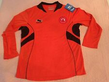 AL ARABI FOOTBALL SOCCER JERSEY TEAM TRAINING SHIRT QATAR BURRDA NEW SMALL