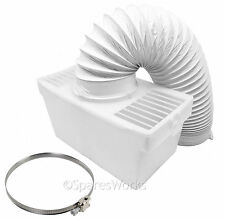 100cm Wall Mountable Condenser Box with Hose & Clip for CREDA Tumble Dryer