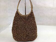 Authentic ANTEPRIMA Wire Hand Shoulder Bag Bronze 5C182570#