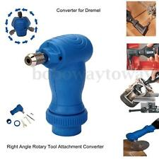Right Angle Drill Attachment Converter Adaptor For Dremel Electric Rotary Tool