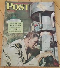 SATURDAY EVENING POST APRIL 22 1944 THE COLLABORATOR TYPHUS MR P HOLLYWOOD