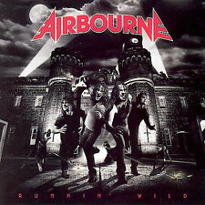 "AIRBOURNE ""RUNNIN WILD"" CD HARDROCK Like New Fast shipping"