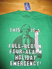 Christmas Vacation CHEVY CHASE Full-Blown 4 Alarm Holiday Emergency (LG) T-Shirt