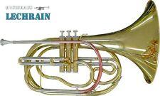 Marching French Horn, Waldhorn, mit Koffer und Mundstück