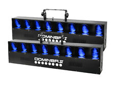 2 x Equinox LED Domin8r MKII Scanning Lighting Disco Effect Scanner Power DJ