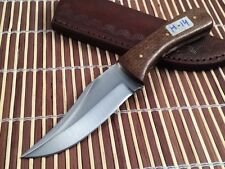 Hand Forged High Carbon Steel Hunting Knife-Messer-Lame-Full Tang-H14