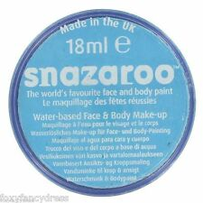 PROFESSIONAL18ml TURQUOISE Smurf SNAZAROO FACE & BODY PAINT MAKE UP