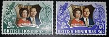 BRITISH HONDURAS 25th Wedding Anniversary QE II & PRINCE PHILIP 1972 MNH (No488)