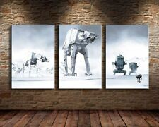 Home Decor Wall art,picture HD printed on canvas,(Unframed)Star Wars 3PC