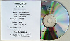 The BEAUTIFUL SOUTH CD The Table WHITFIELD Studio ACETATE Rare  1 Trk PROMO ONLY