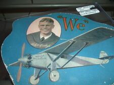 1927 Charles Lindbergh Spirit of St Louis Flight Advertising Fan Sporting Goods